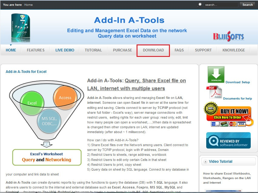 Download and set up Add-in A-Tools
